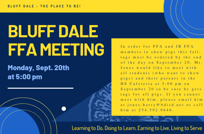 FFA Meeting