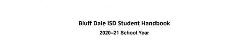 BDISD Student Handbook