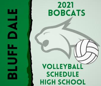 2021 Volleyball Game Schedule