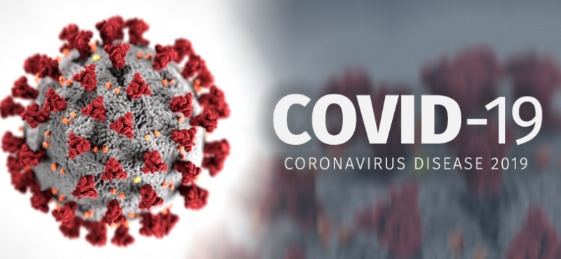 Confirmed case of COVID-19 on campus.
