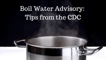 Boil Water Advisory from the CDC