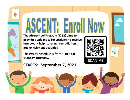Ascent After School Sign Up
