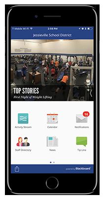 Jessieville Branded App