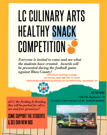 LC Culinary Arts Healthy Snack Competition