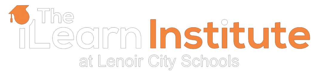 The iLearn Institute at Lenoir City Schools Logo