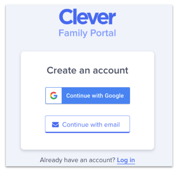 LPS Clever Family Portal