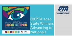 PTA REFLECTIONS STATE WINNERS HEADED TO NATIONALS