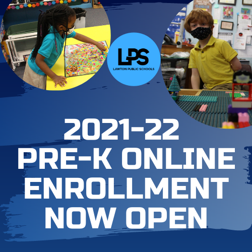 LPS PreK Online Enrollment NOW OPEN
