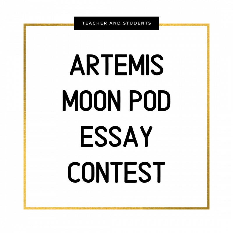 Artemis Moon Pod Essay Contest