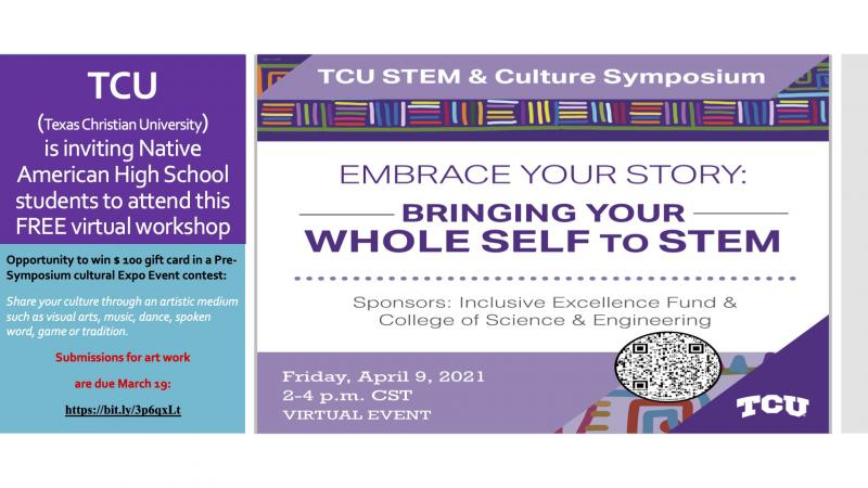TCU STEM and Culture Symposium