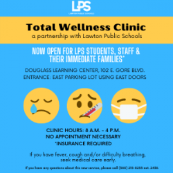 Total Wellness Clinic NOW OPEN for LPS