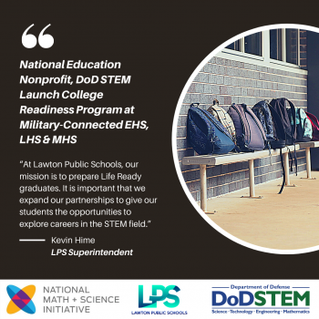 National Education Nonprofit, DoD STEM Launch College Readiness Program