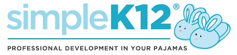 Simple K-12 PD in your PJ's link