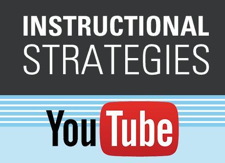 Youtube instructional strategies link