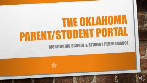 oklahoma parent/student portal link