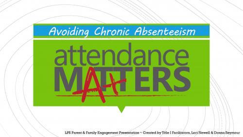 attendance matters video link