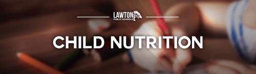 Child nutrition banner