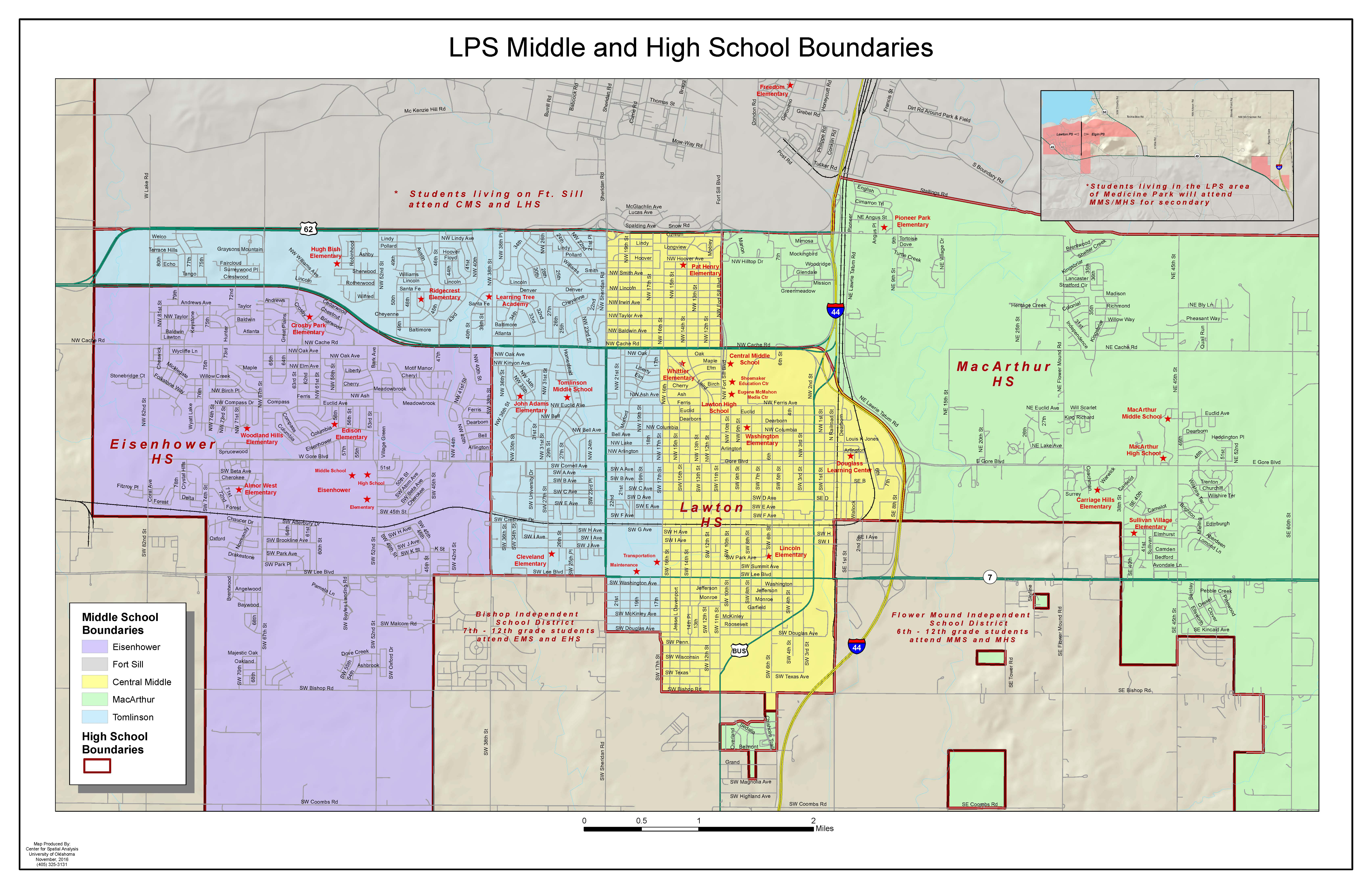 LPS Middle and High School Boundaries