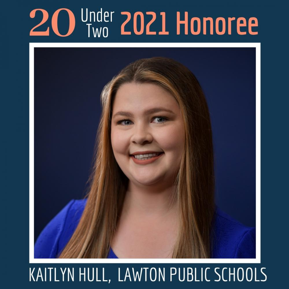 Kaitlyn Hull 20 under 2