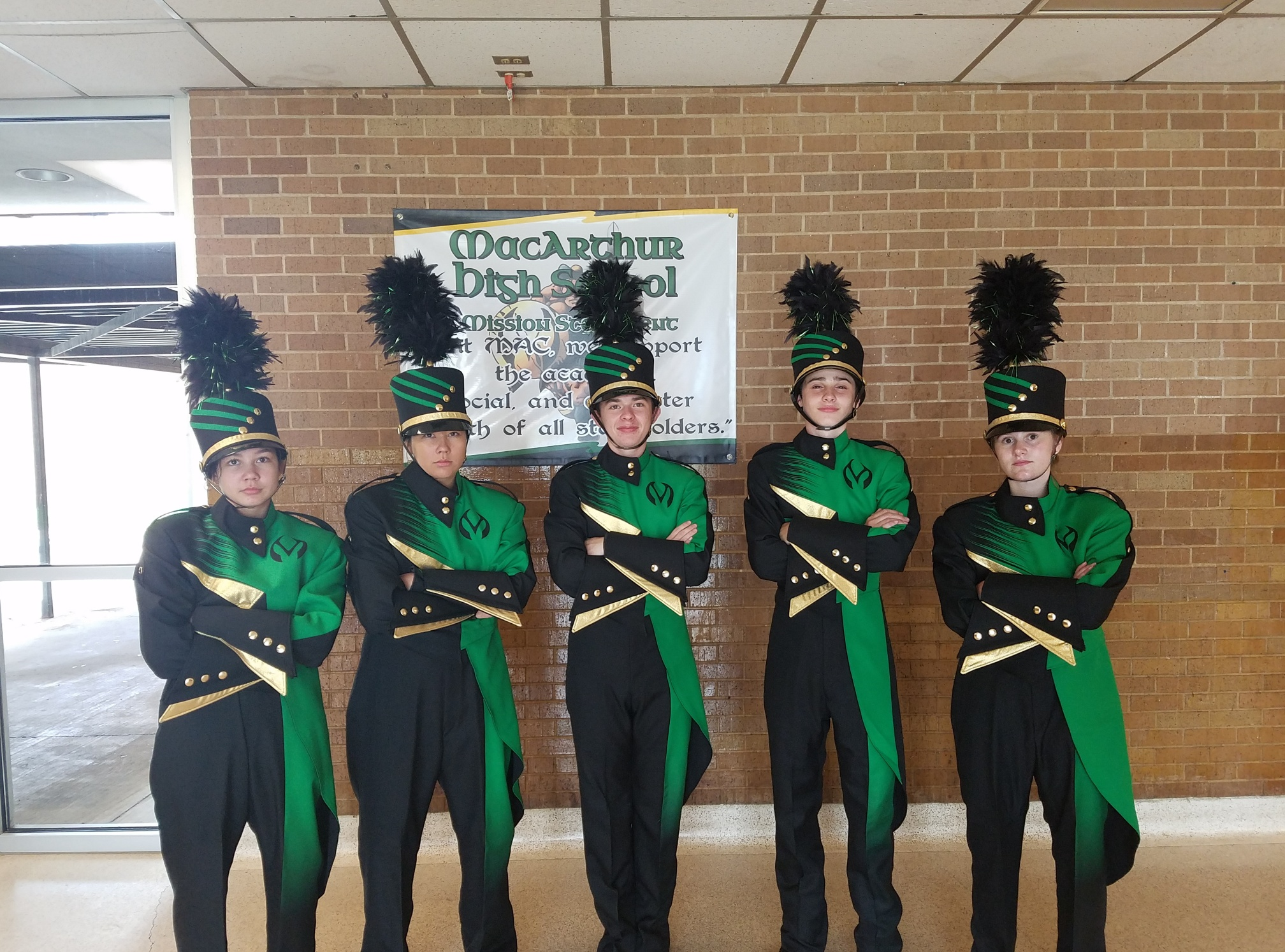 new band uniforms