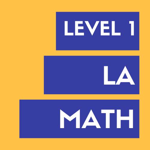 Level 1 LA Math