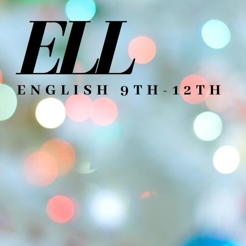 English 9th 12th