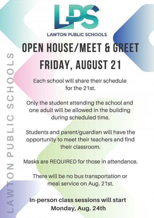 Open House/Meet & Greet