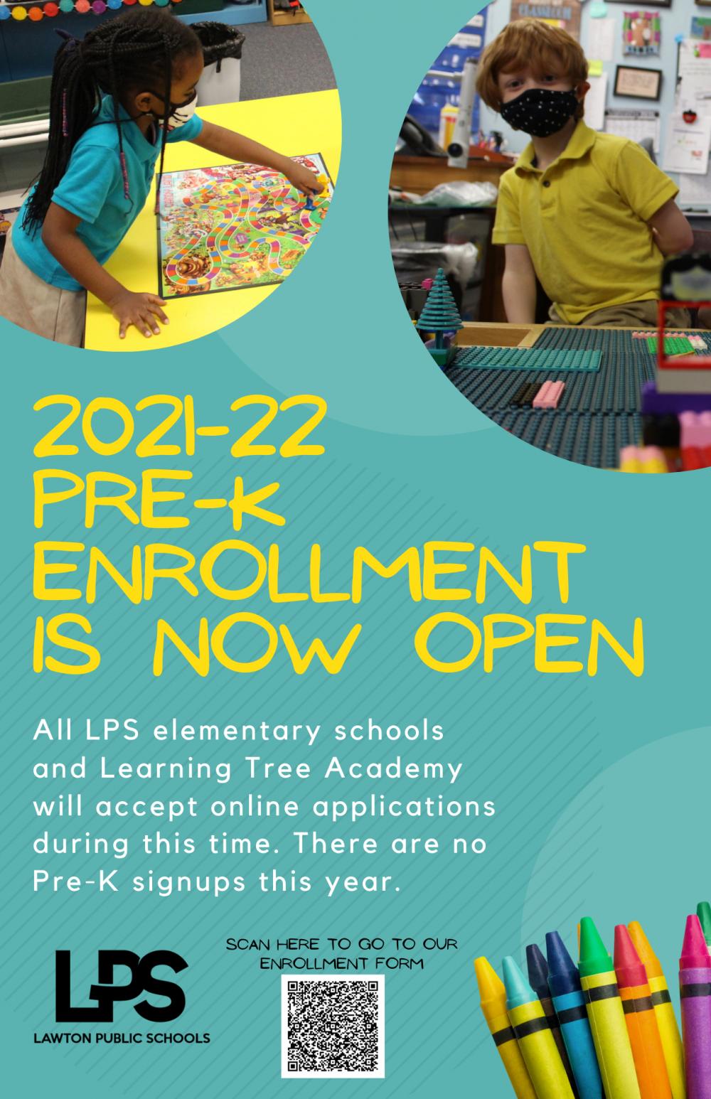 PreK Enrollment 21-22