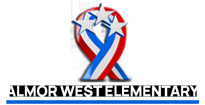 Almor West Elementary Logo