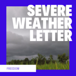 Severe Weather Letter
