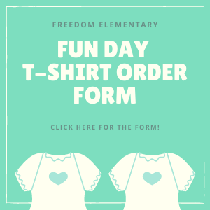 Fun Day T-Shirt Order Form