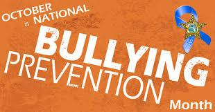 October is National Bully Prevention Month