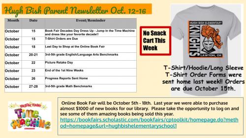 10/12 Parent Newsletter 2