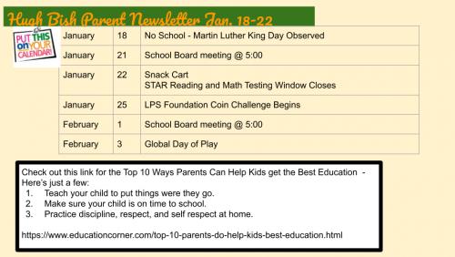 1.18.21 Parent Newsletter pg 2