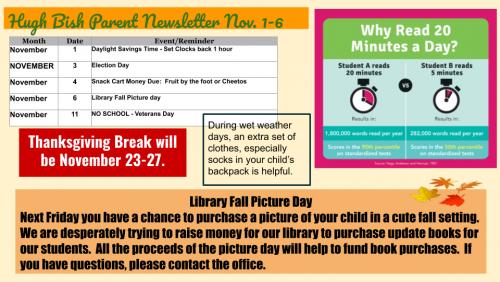 11/2 Parent Newsletter pg 2