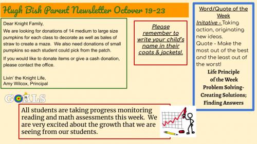 10/19 Parent Newsletter