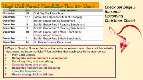 11/30 Parent Newsletter pg 2