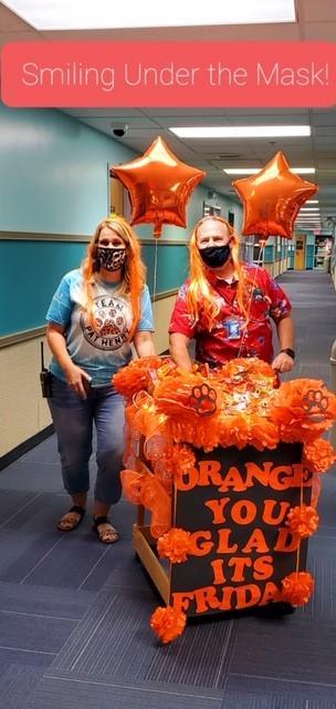 Orange You Glad It's Friday.