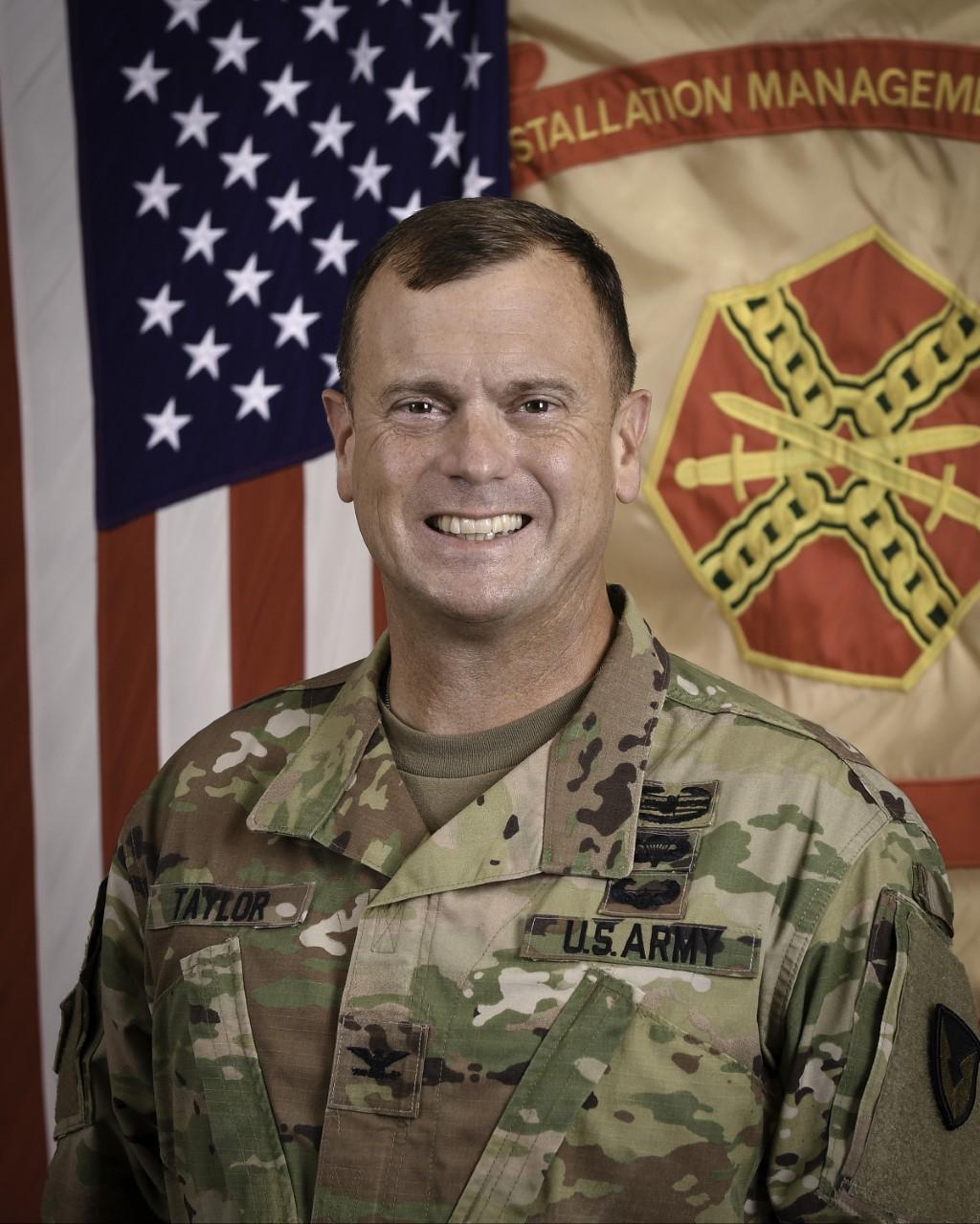 Col. Rhett Taylor, Military Rep., Fort Sill, OK