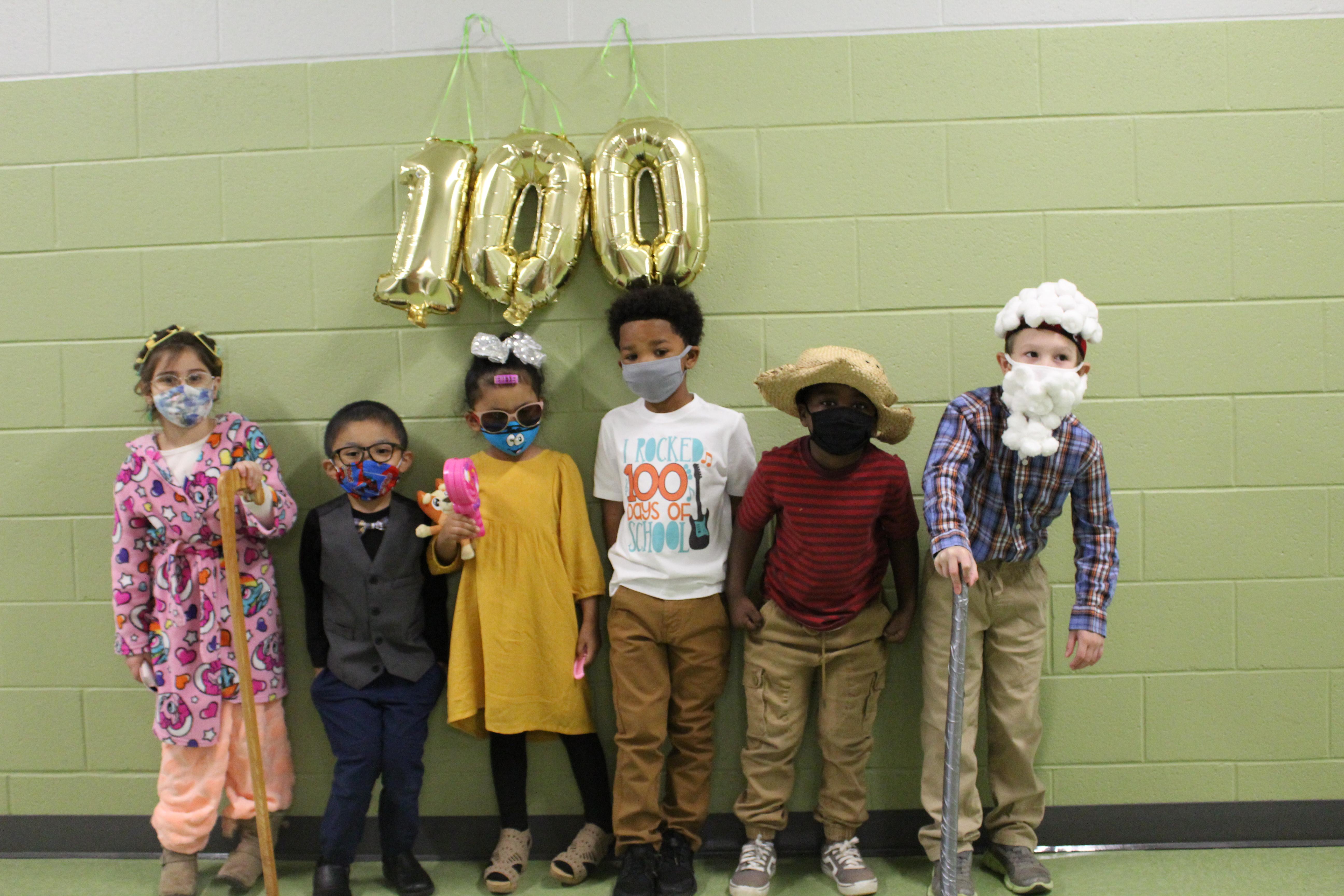 Kindergarten 100th Day of School