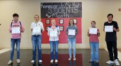 KJSHS Students of the Month