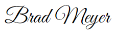 Brad Meyer Signature