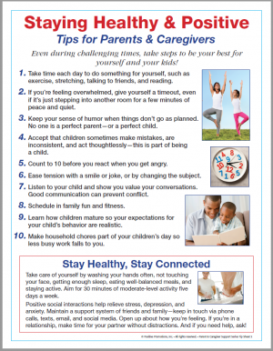 Tips for staying Positive & Healthy for Parent & Caregivers