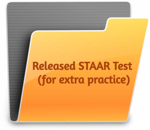Released STAAR Questions