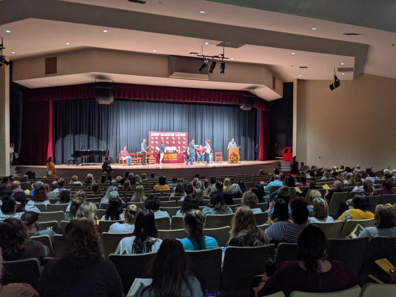 NBISD's End of Year Staff Ceremony