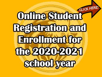 Student registration & enrollment for the 2020-2021 school year is now open!