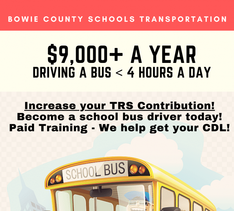 Drive a Bus!  We Are Hiring Drivers!