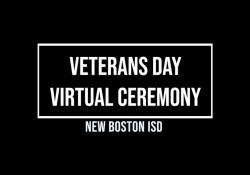 Veterans Day 2020 Virtual Ceremony