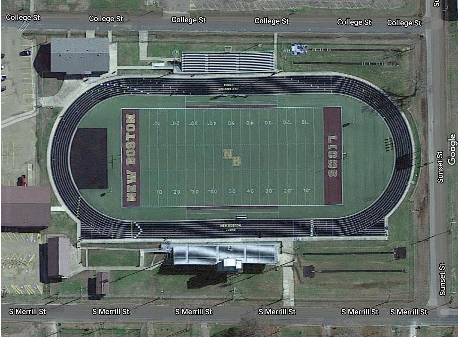 Overhead Photo of Lion Stadium