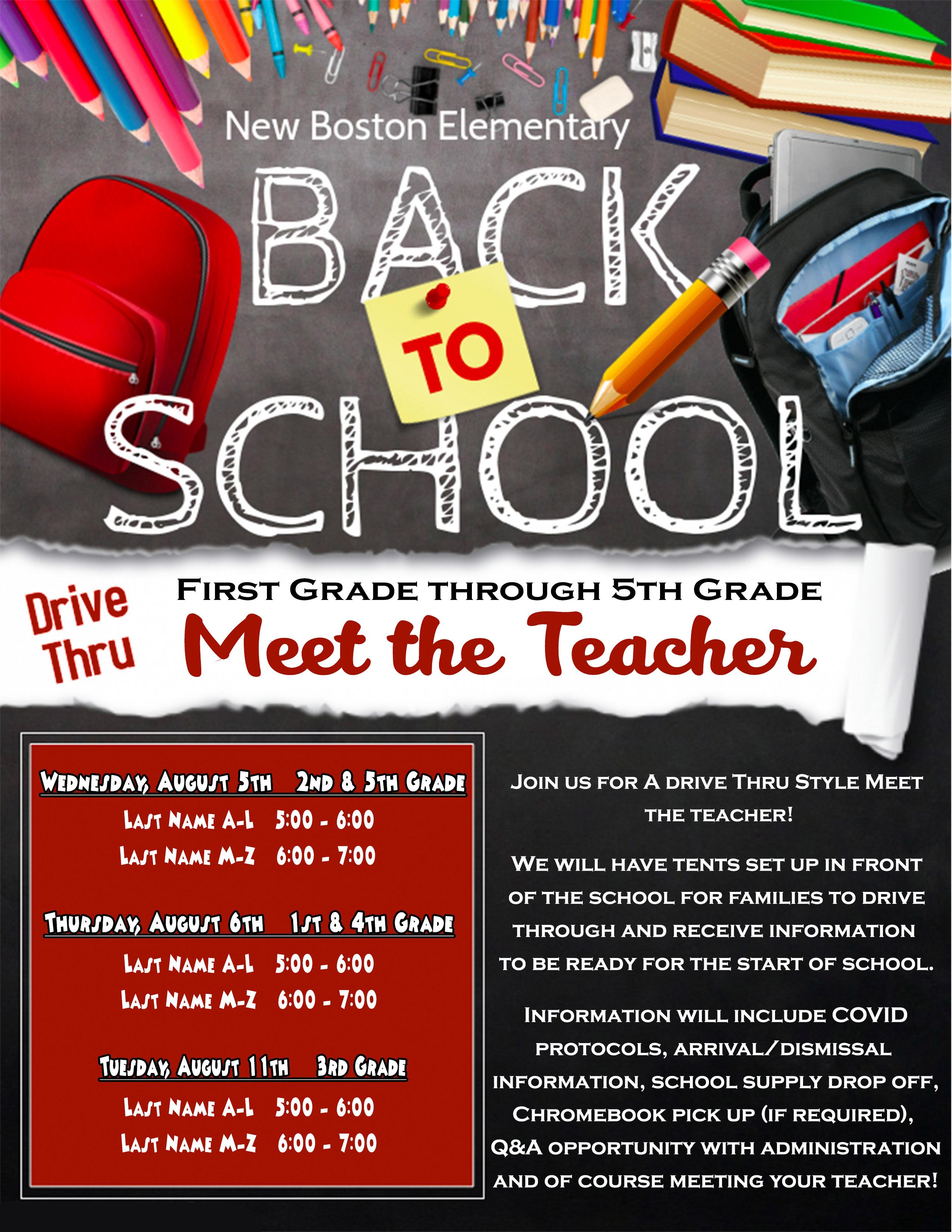 3rd-5th grade meet the teacher